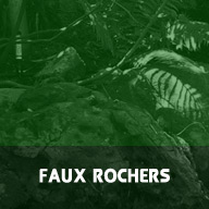 Faux rocher decoratif